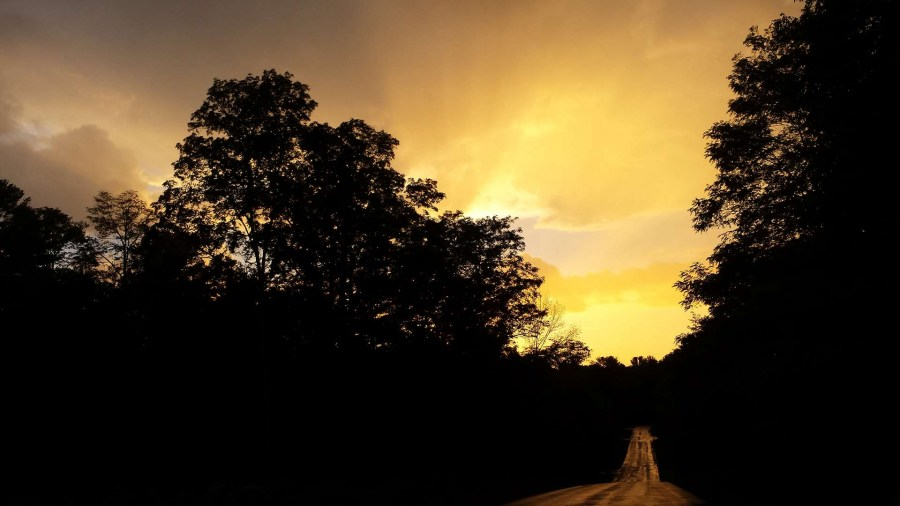 Sunset-Yellow-Road