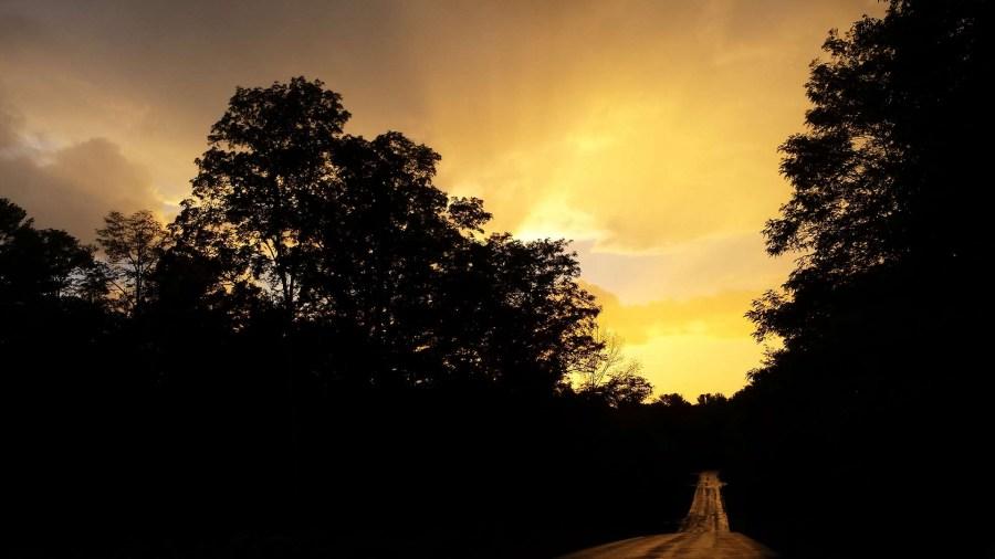 Sunset-Yellow-Road