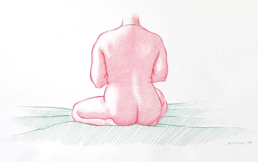 Jeffrey-Wiener_Seated_Nude_Large-Female