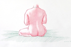 Jeffrey-Wiener_Seated_Nude_Large-Female