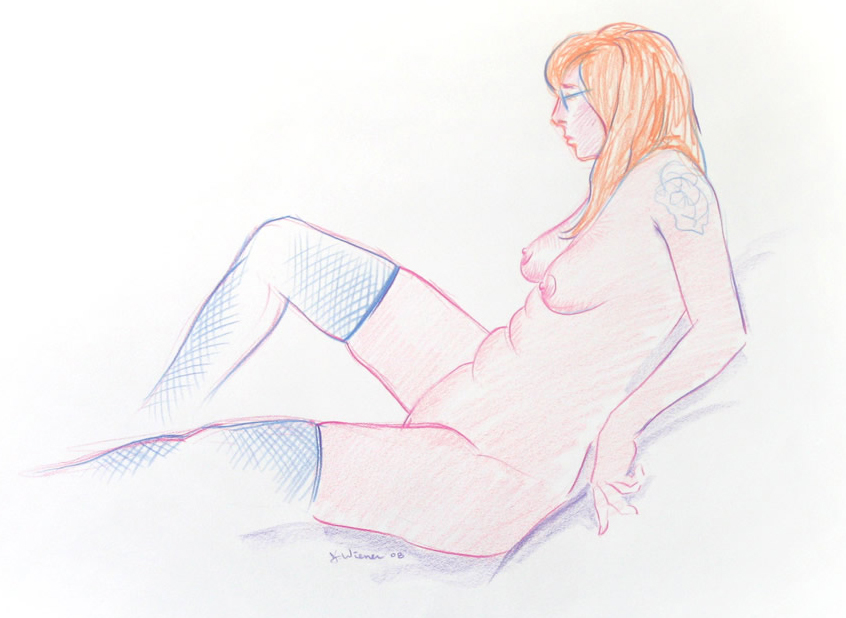 Jeffrey-Wiener_Seated_Nude_Tattoo