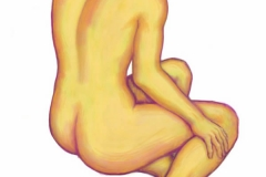 Jeffrey-Wiener_Seated-Yellow-Nude