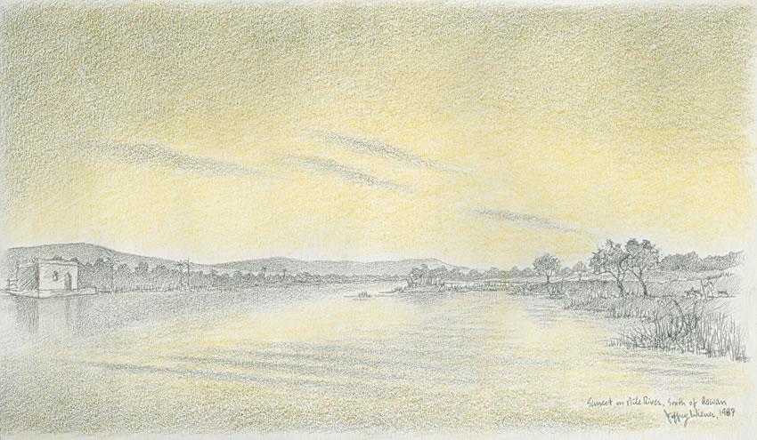 Nile-River-at-Sunset