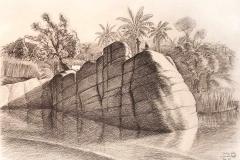 Jeffrey-Wiener_Rock-on-Nile-River-1984