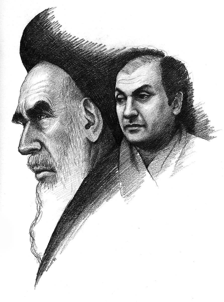 Jeffrey-Wiener_Salmon-Rushdie-Ayatolah-Iran