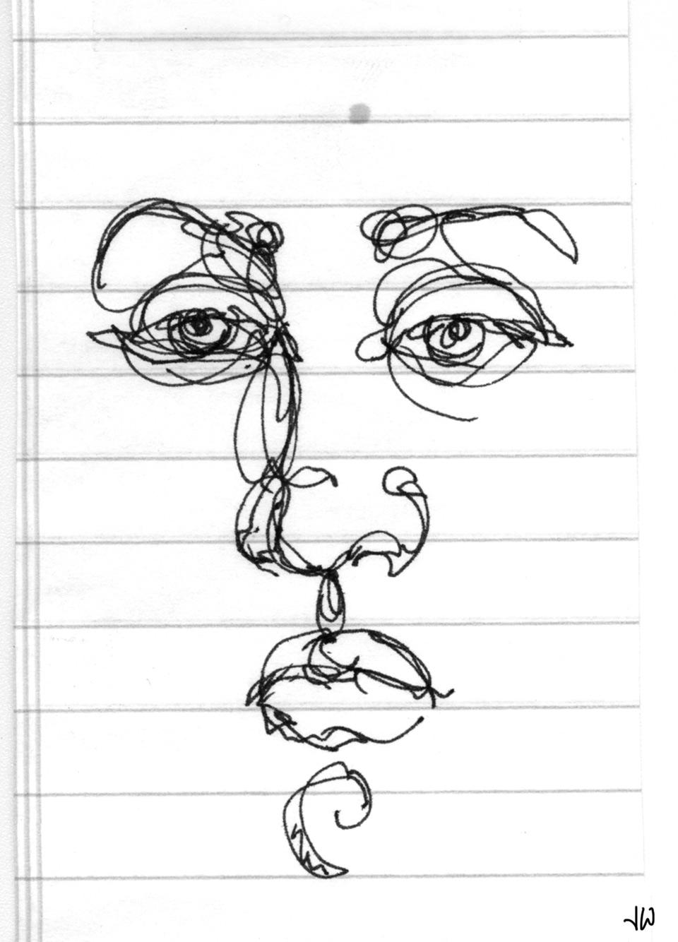 Sketch_Portrait_Notepaper