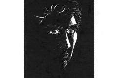 Self-Portrait_Woodcut_1982